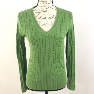3 for $25 V-Neck Pullover Sweater Knit Cardigan M